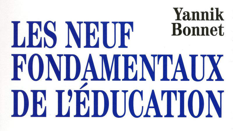 neuf fondamentaux de l'éducation