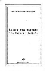 Lettre aux parents des futurs illettrés