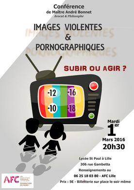 Conférence des AFC 1er mars Lille