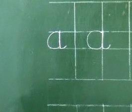 L'enseignement de l'écriture : l'expérience d'une institutrice