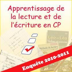 Enquête de Lire-Ecrire sur l'apprentissage de la lecture en CP (Phase 2)